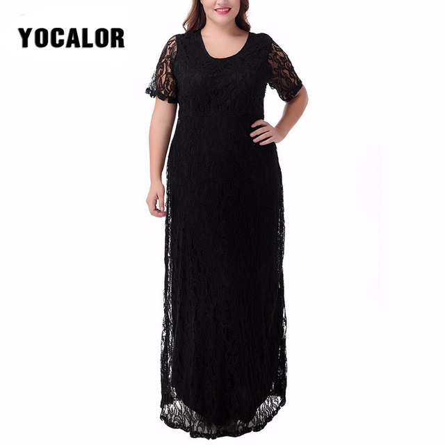 Plus Size Short Sleeve Dresses