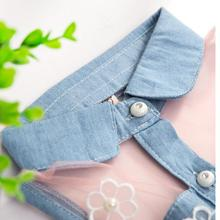 New Princess Baby Girl's Denim Sleeveless Mini Dresses