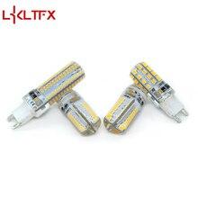 LKLTFX G9 G4 Светодиодная лампа AC220V 3014 1 Вт 2 Вт 3 Вт SMD 2835 Кристаллическая силиконовая