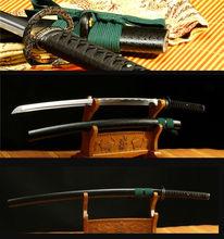 5 piezas tarifa personalizada 41'1060 de acero al carbono espiga completa hoja puede cortar árbol espada KATANA japonesa samurái