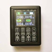 Точность 4-20 мА 0-10 в генератор сигналов процесс управления калибратор сигнала источник постоянного тока 0-20 мА симулятор