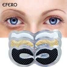 Eye Pads Collagen Crystal Eye Mask Face Mask Eye Patches Eye Bags Wrinkle Dark Circles Remove Moisturizing Skin Care Gold Mask недорого