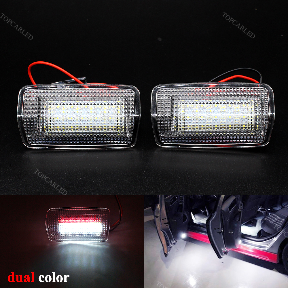 Super Bright Car LED Courtesy Lamps Dual Color For TOYOTA