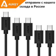 Aukey [5-Pack] Hi-speed Micro USB Quick Charge Cable USB 2.0 A Male to Micro B Sync & Charging Cable for for Android phones
