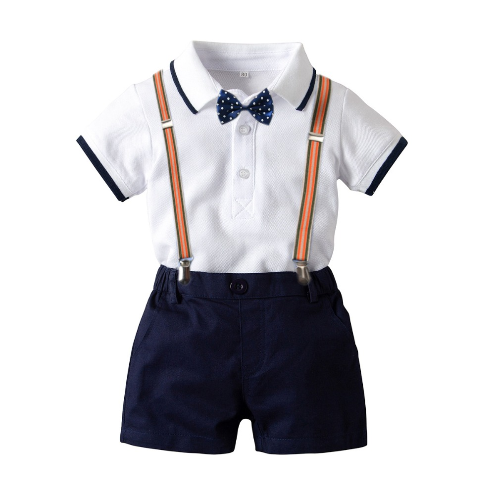 Kreativ Babys Sommer Sets Jungen Kleidung Kleinkind Jungen Baumwolle Hemd Sets Kinder Sommer Weiche Baumwolle Kleidung Baby Kleidung Kinder Kleidung