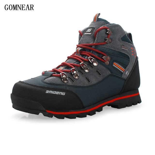 c3c7cf6a7c35e GOMNEAR Men's Trend Hiking Shoes Waterproof Fishing Outdoor Antiskid ...