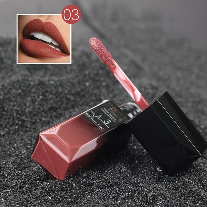 Nude Sexy Lipstick Metallic Lip Gloss Longlasting Pigment Matte Liquid Lipstick Women Fashion Makeup Cosmetic Valentine's GIFT 1 6