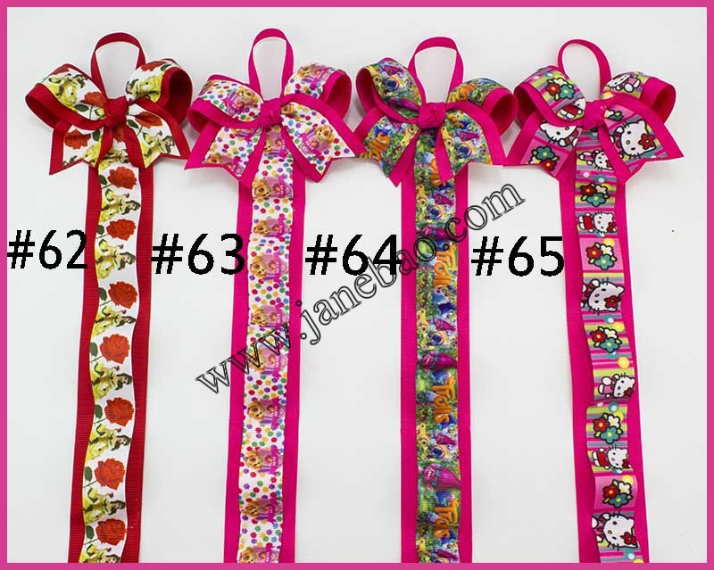 free shipping 20pcs mix color 28 fashion bow chevron bows holder for boutique bows hair bows