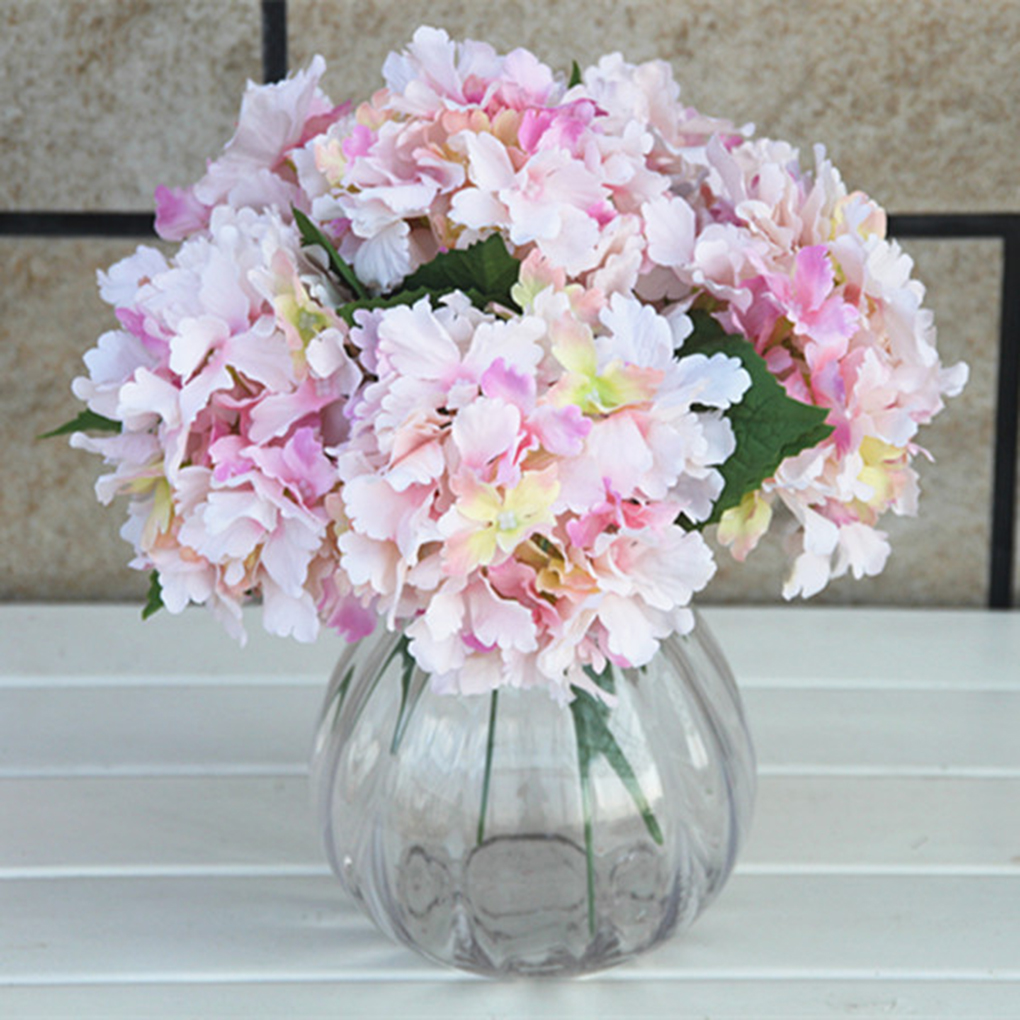 Artificial Silk Flowers Bouquet Fake Flowers Arrangement Home Wedding Decor 7 Colors In