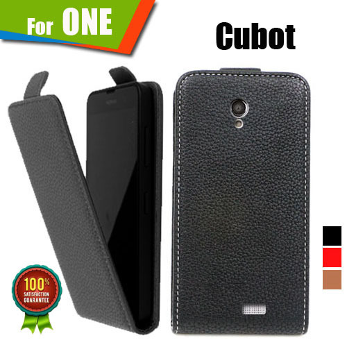 New items 100% Special Case PU Leather Flip Up and Down Case + Free Gift For Cubot ONE