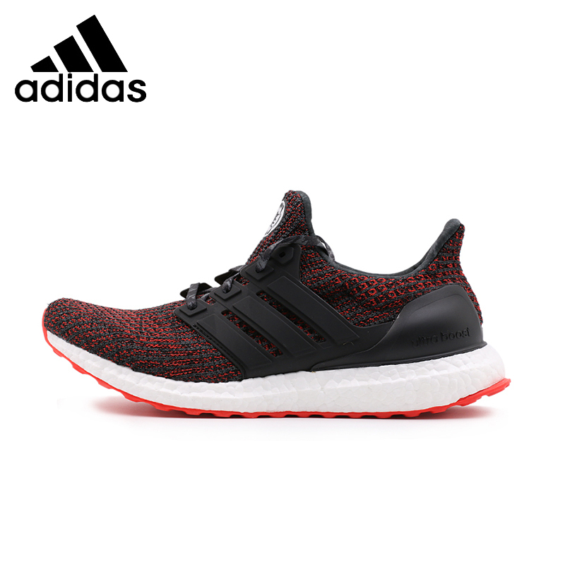 Best buy ) }}ADIDAS Ultra Boost UB 4.0 Unisex Running Shoes Breathable Stability Support Sports Sneakers For