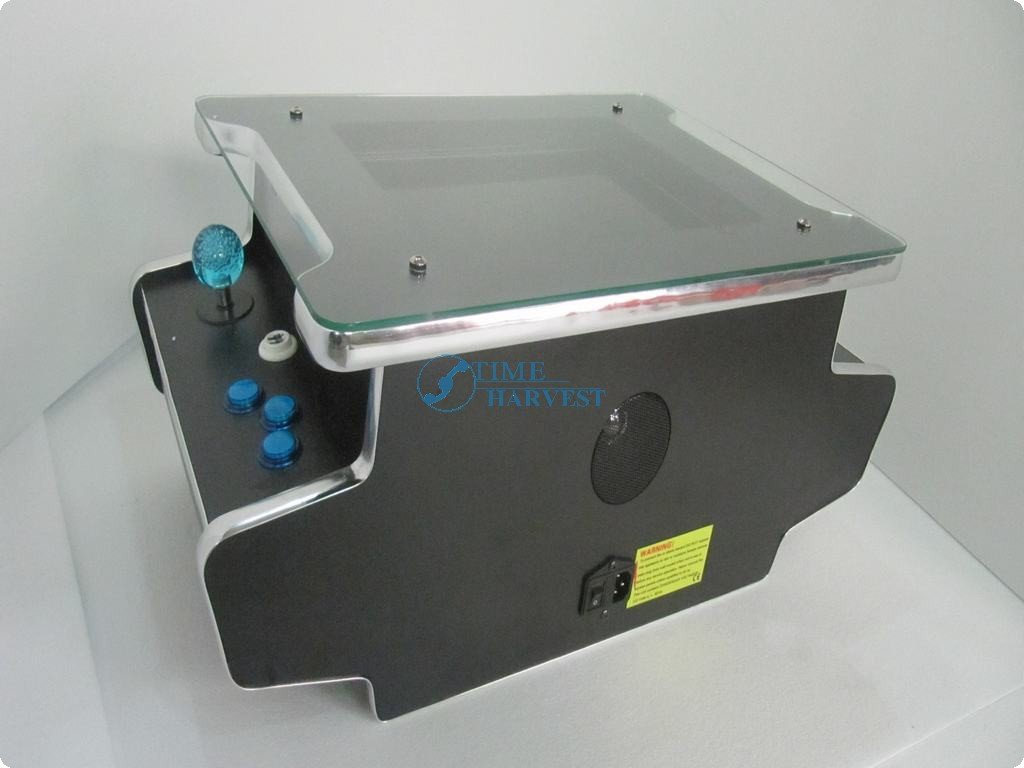 15 inch LCD Table Cocktail Machine With Classical games 60 in 1 Game PCB and With Illuminated joystick and Illuminated button