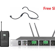 Bolymic UHF 4-канальный беспроводной микрофон PLL wireess 3 ручной 1 Handfree микрофон Системы