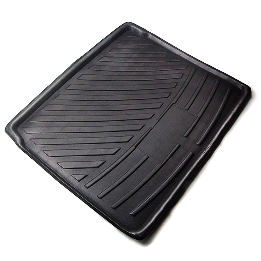 For Peugeot 3008 2017 2018 Polyethylene Car Interior Cargo Boot Liner Rear Trunk Mat Floor Cargo Tray Accessories Car Styling