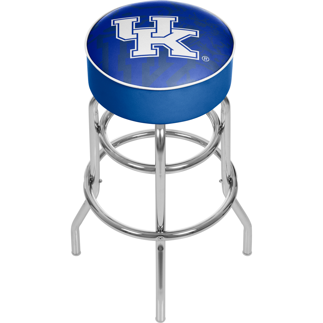 University of Kentucky - Fade Padded Swivel Bar Stool 30 Inches High