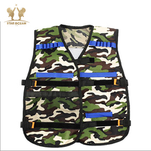 Soft Bullet Modified Exterior Tactical Carrier Darts Storage Waistcoat for NfWargame Body Molle Armor-Camouflage aa shield bullet proof soft panel body armor inserts plate uhmwpe core self defense supply ballistic nij lvl iiia 3a 10x12 pair