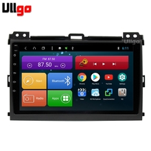 9 inch Android 8.1 Car Head Unit for Toyota Land Cruiser Prado 120 2004-2009 Autoradio GPS with BT Radio RDS Mirror-link Wifi