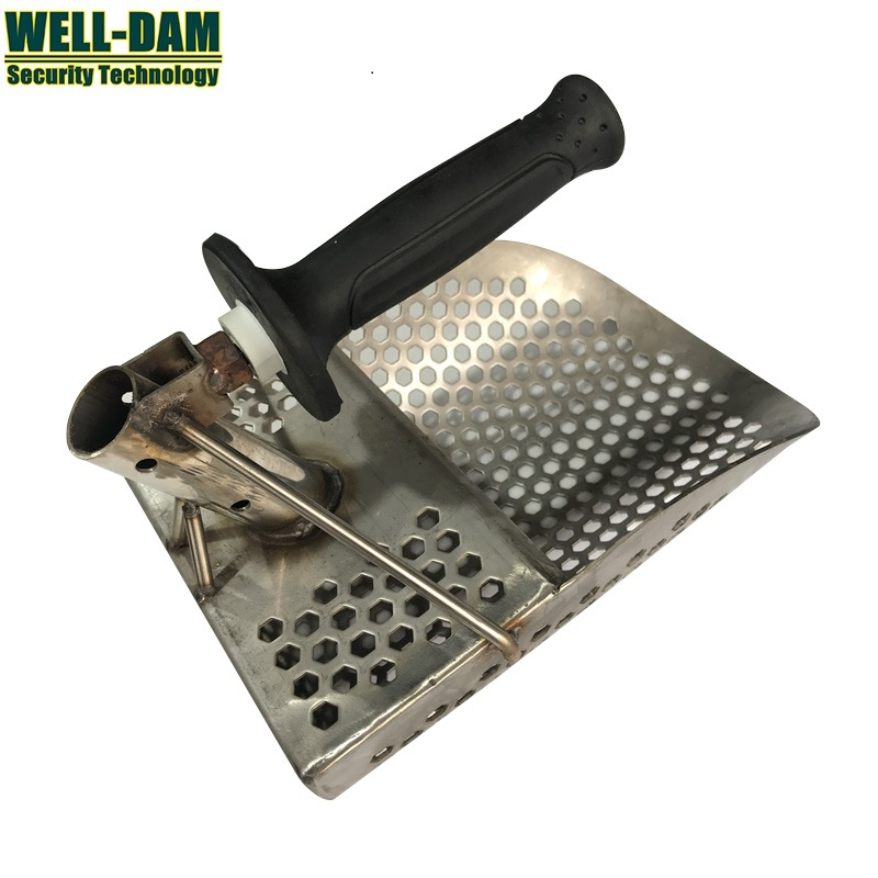 Gold metal detector digging shovel spade beach sand scoop stainless steel sand scoop