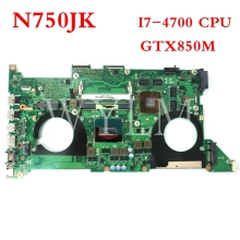 цена на free shipping original G771J G771JM motherboard MAIN BOARD MAINBOARD I7 CPU 100% Tested Working Well