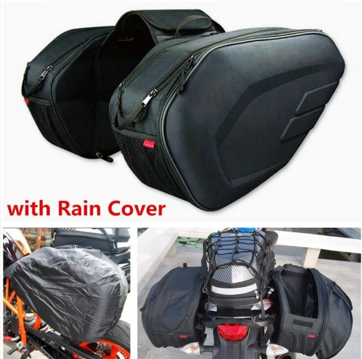 Universal fit motorcycle komine bag 36-58L with a luggage saddle bag from the rain кофры komine