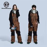 2018 STORMRUNNER женские лыжные брюки непромокаемые зимние брюки уличные зимние спортивные теплые сноубордические брюки женские зимние лыжные бр