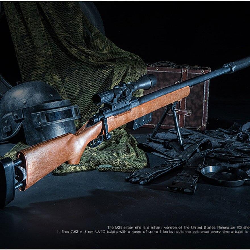 M24 Sniper Fusil Manuel Orbeez Doux L'eau Balles Fusils Jouets Silah Airsoft armes à air comprimé Pour En Plein Air CS Jeux Jouets Pour Enfants