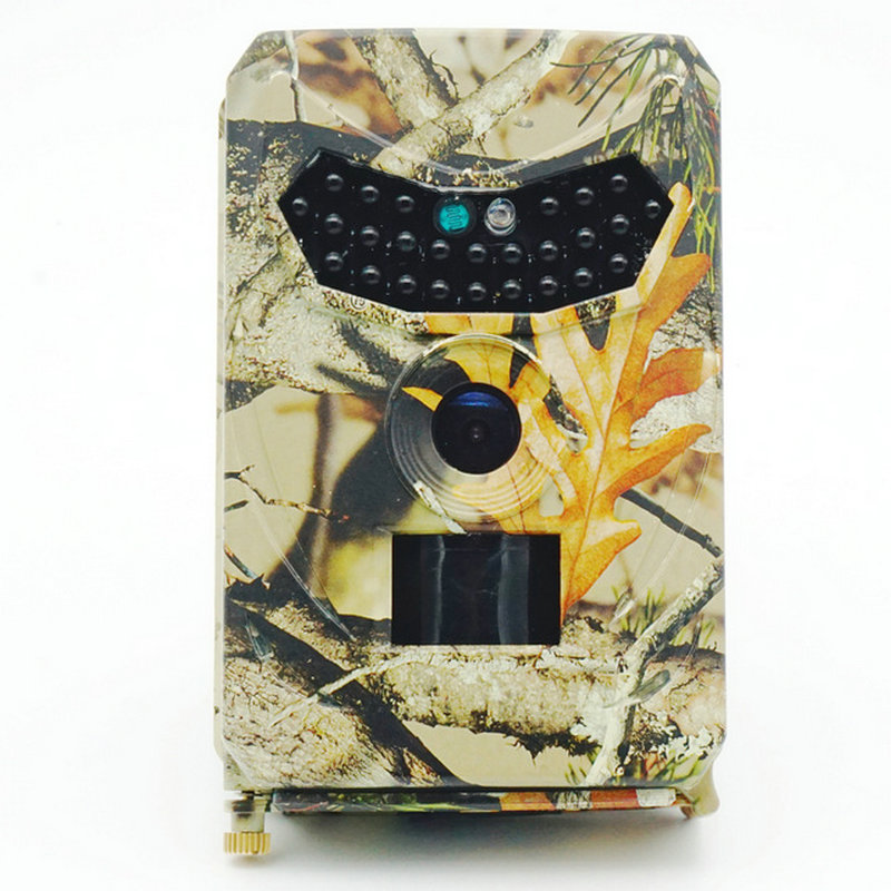 12MP HD Camouflage Digital Trail Camera with 940nm Invisible IR Light & PIR Motion Sensor 3 photos & 10s Video File per Trigger