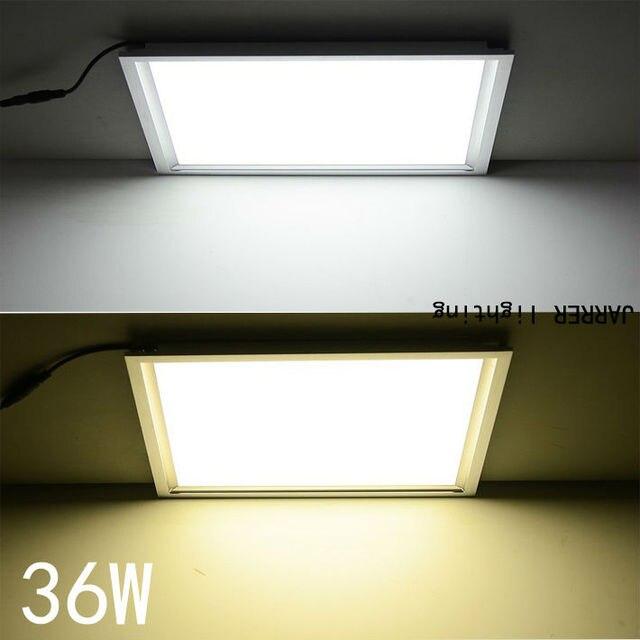 36 Watt 600 600 15mm Flache Led Panel Licht Super Dunn Ac 85