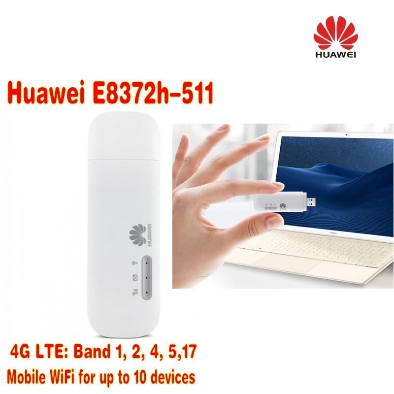 Lot of 50pcs Huawei E8372h-511 LTE USB Wingle plus 2pcs antenna,DHL shipping 50pcs 100