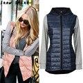 Snowshine #3001 Женщин С Капюшоном Зима Теплая Вниз Куртка парка Пальто бесплатная доставка