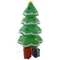 1.2M Arbol de navidad Navidad inflable decoracion LED iluminacion con ventilador+ arena CM19984