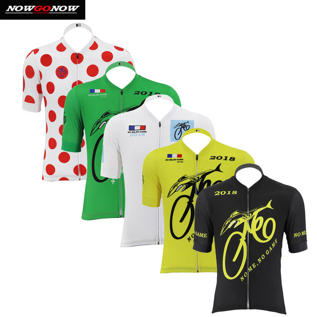 2018 cycling jersey men black yellow red green white bike clothing wear  Silicone particle cuffs with 1a315937a