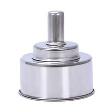 Stainless Steel Alcohol Burner, Lab Spirit Lamp, 200 Ml (6.7 Oz)