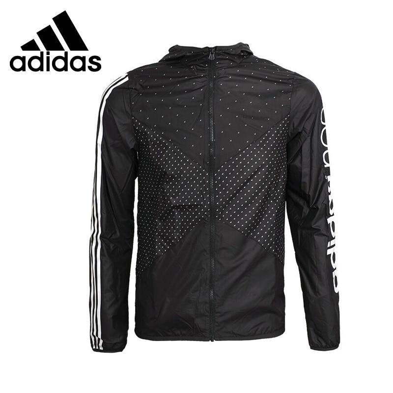 ФОТО Original New Arrival  Adidas NEO Label Men's Dot Jacket Hooded  Sportswear