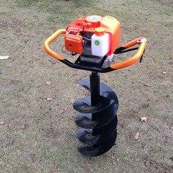 De alta potencia perforadora de hielo de gasolina de pala de tierra máquina de perforación de la tierra barrena taladro herramienta profesional 1 Set