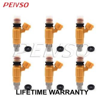 6x CDH275 MD319792 fuel injector for Mitsubishi Diamante 3.5L V6 97~04 Montero Sport 3.0L V6 97~98 Galant 2.4L L4 99~00