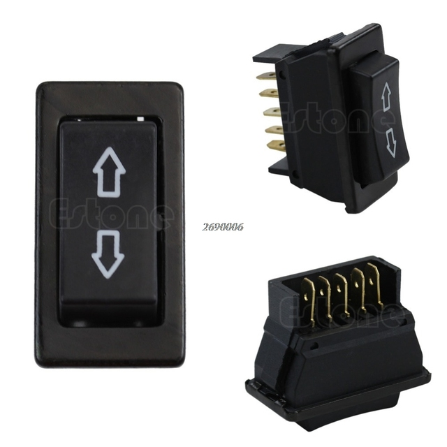 power window fort universal 12v dc humpback whale skeleton diagram 20a auto car switch 5 pin on off spst rocker