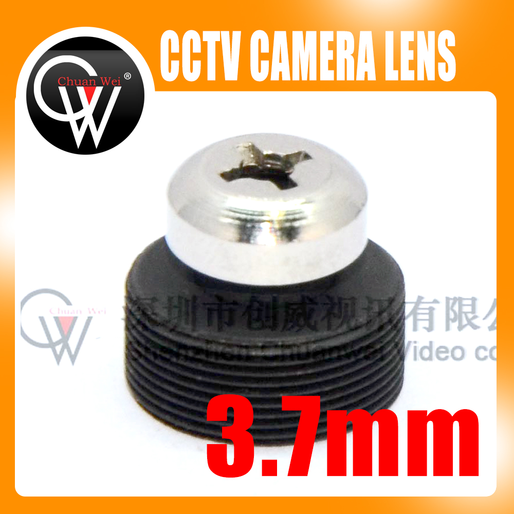 5pcs/lot 3.7mm lens Screw Board Lens 80 Degrees For CCTV Security Camera Free Shipping 5pcs lot lm338k to3 free shipping