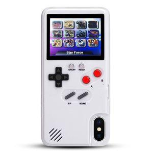 Image 3 - Чехол для телефона с цветным дисплеем и 36 классическими играми для iPhone 11 Pro X XS Max XR 6S 6 7 8 Plus, мягкий силиконовый чехол из ТПУ с консолью Game boy