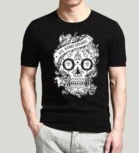 2016 Summer men t shirts men short sleeve t shirt fashion skull style casual O-Neck slim camisa masculina Swag t-shirts Men