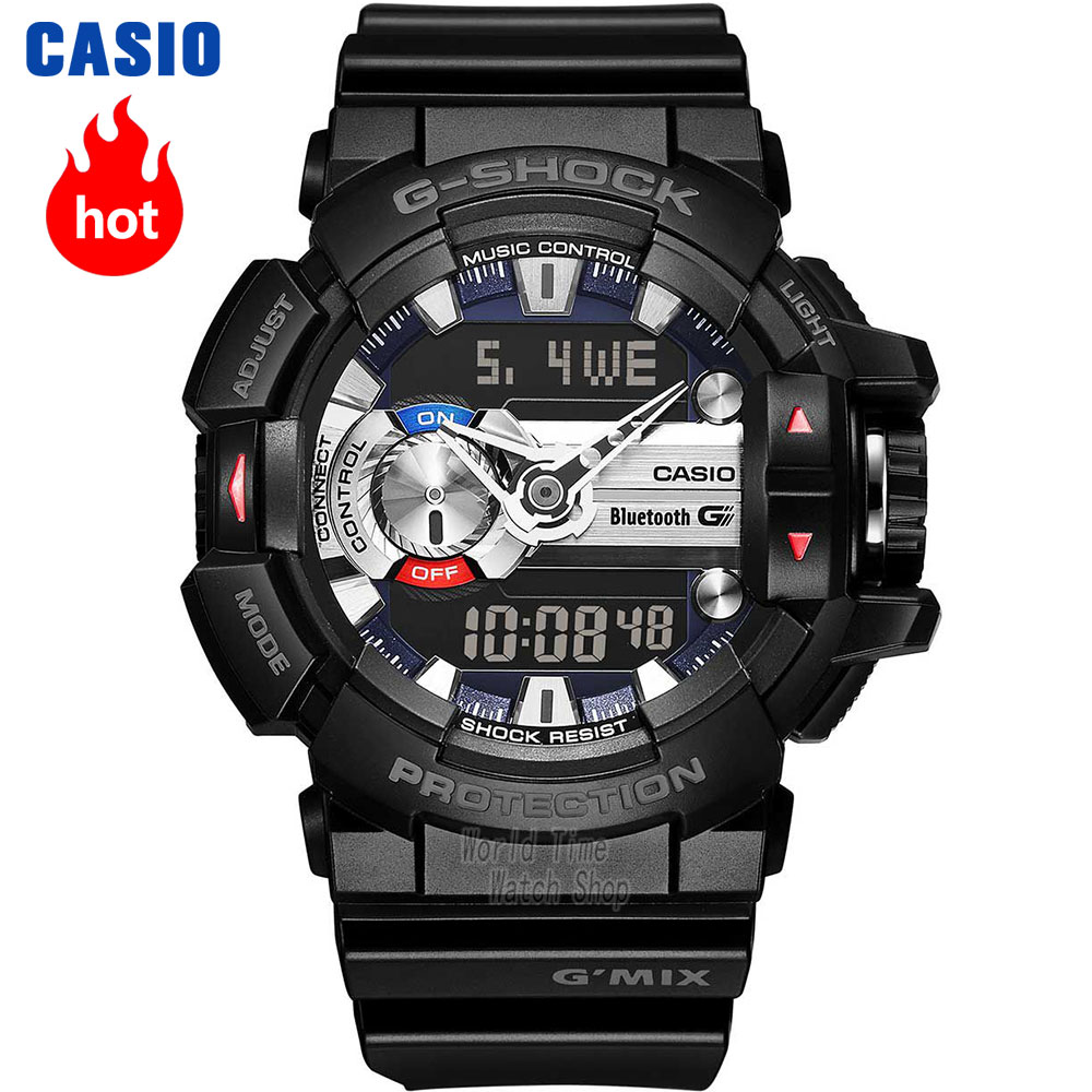 Casio watch Music bluetooth multifunctional movement male watch GBA-400-4C GBA-400-2C GBA-400-1A GBA-400-1A9 GBA-400-4A