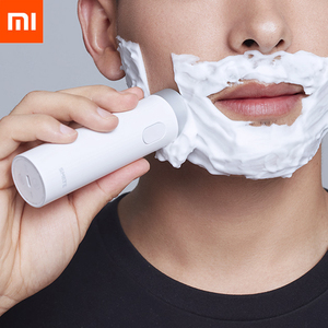 Image 2 - Xiaomi Smate Electric Shaver Razor USB Rechargeable Dry Wet Shaving Machine for Men IPX7 Washable Three Leaf Blade Comfy Clean