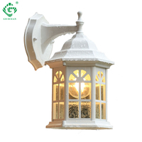 LED Porch Wall Light Waterproof Sconces for Exterior Wall Lamps Outside Balcony Gate Street Patio House White Outdoor Lighting
