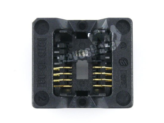 module SOP8 SO8 SOIC8 OTS-8(16)-1.27-03 Enplas IC Test Burn-in Socket Programming Adapter 1.27mm Pitch 3.9mm Width lacywear джемпер dgd 7 shi