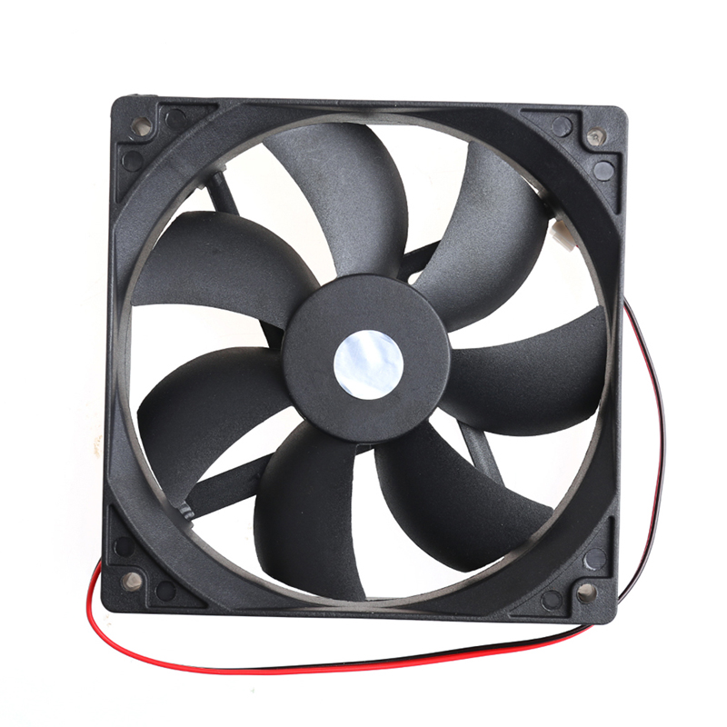 MANGKE Hydraulic Cooling Fan 12025-12cm High Speed Computer DC 12V 2Pin PC Case System Case Fans
