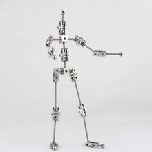 CINESPARK SWA-19 19CM woman type Not-Ready-Made stainless steel DIY animation armature for stop motion character puppet