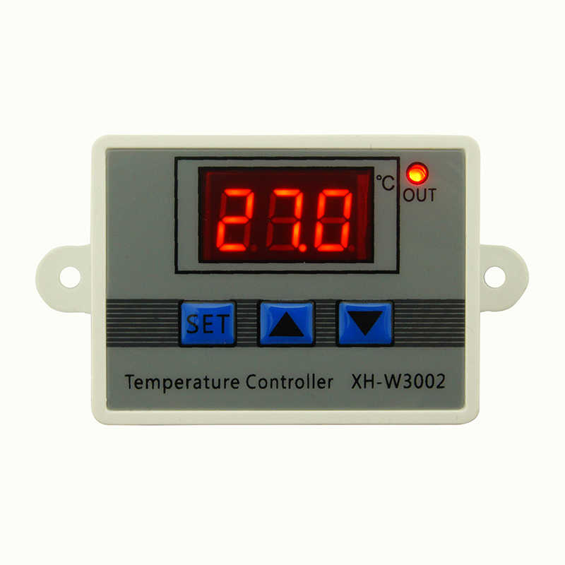 W3002 12V 24V 110V 220V LED Digital Temperature Controller Thermostat Thermoregulator Sensor Meter Fridge Water Heating Cooling