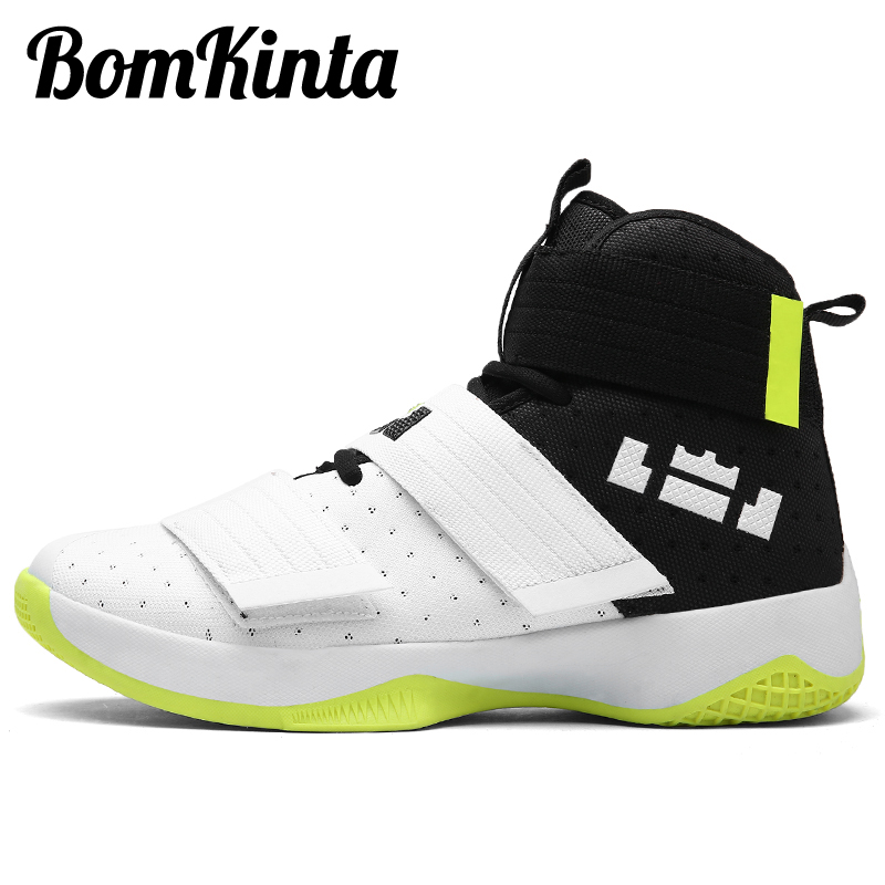 Bomkinta Sneakers Basketball-Shoes Training Women Baloncesto Outdoor Male Ankle-Boots