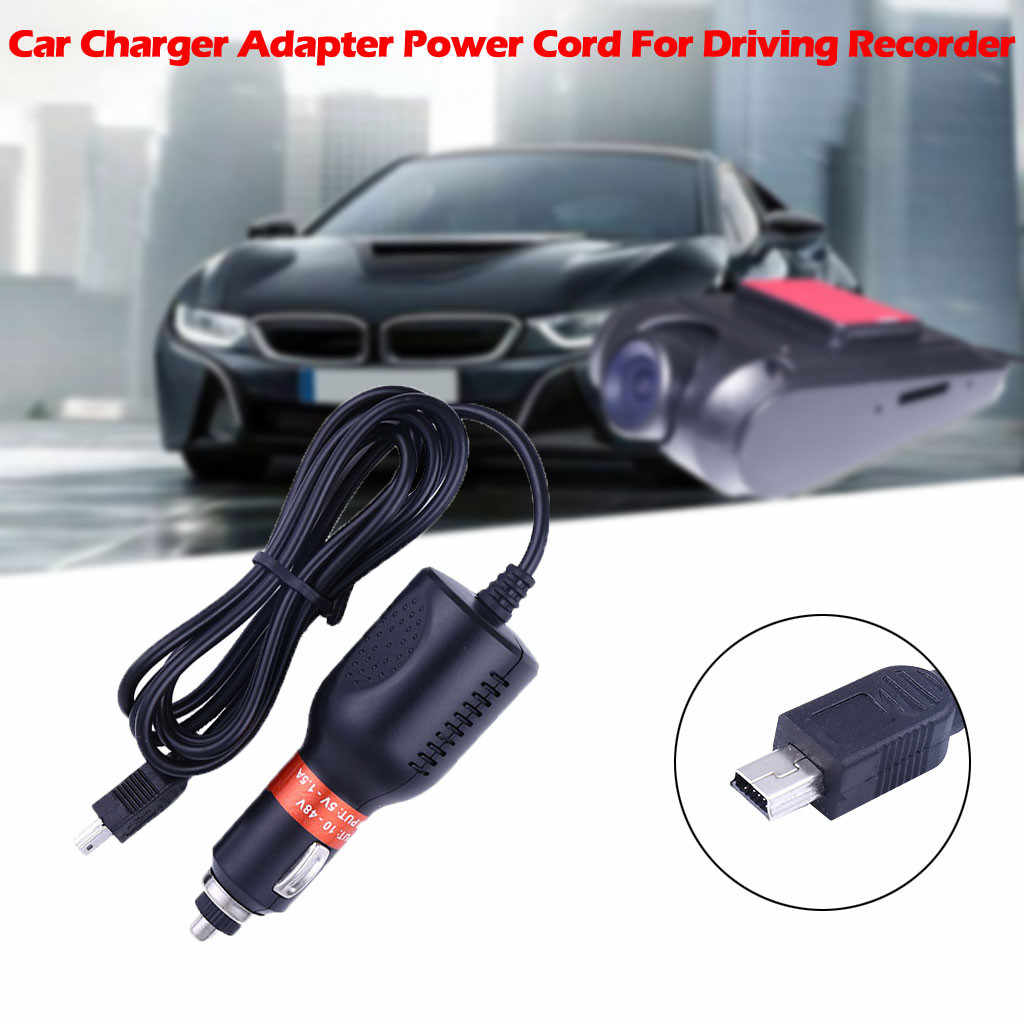 CARPRIE unités de charge de batterie chargeur de voiture USB Dash Cam adaptateur cordon d'alimentation pour la conduite enregistreur GPS rapide 19May27