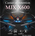 MJX X600 RC quadcopter 2.4G 6-axis 4CH RC helicopter drone can add C4005 FPV Wifi camera VS Syma X5SW CX-30W x400-1
